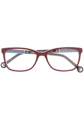 Ch Carolina Herrera rectangular glasses - Purple