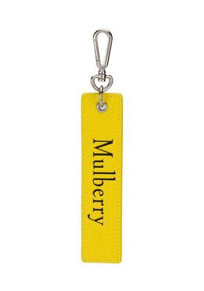 Mulberry snap hook keyring - Yellow