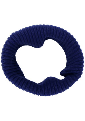 Dorothee Schumacher snood knitted scarf - Blue