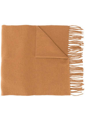 Isabel Marant Zalinea long scarf - Brown