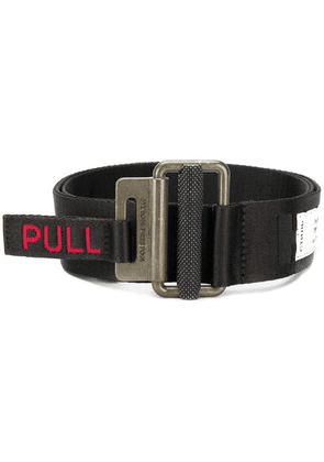Heron Preston Pull tab belt - Black