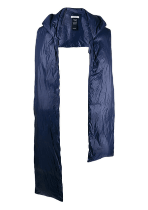 Dorothee Schumacher padded scarf - Blue