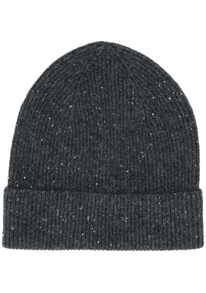 Isabel Marant Chilton ribbed beanie - Grey