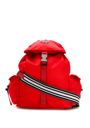 Moncler foldover top backpack - Red