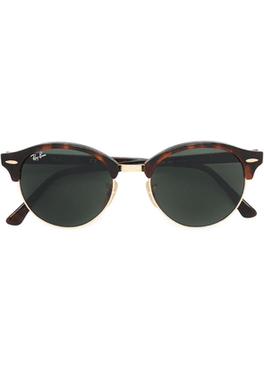 Ray-Ban 'Clubround' sunglasses - Brown