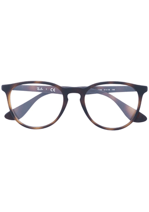 Ray-Ban round frame glasses - Brown
