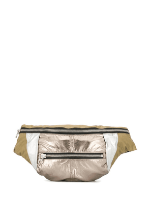 Isabel Marant panelled belt bag - Green