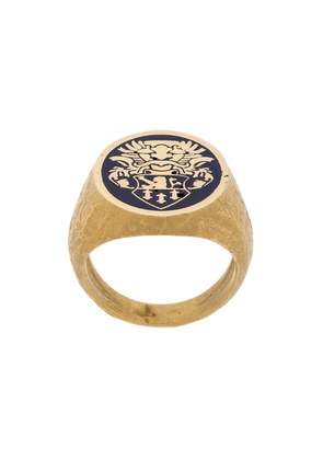 Andrea D'amico signet ring - Gold