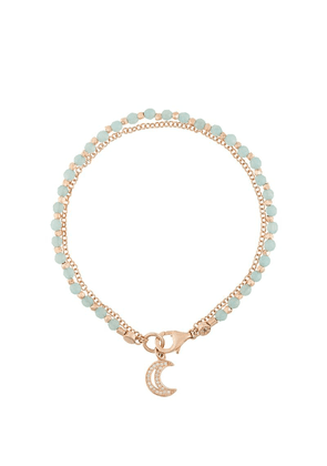 Astley Clarke moon biography bracelet - Green