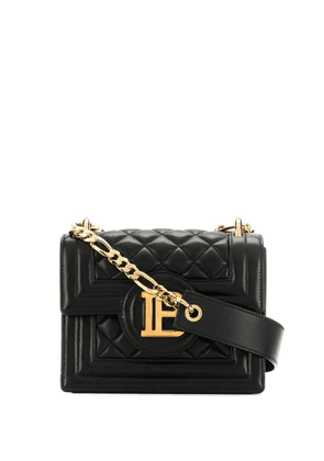 Balmain quilted shoulder bag - Black