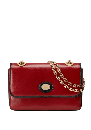 Gucci Leather small shoulder bag - Red