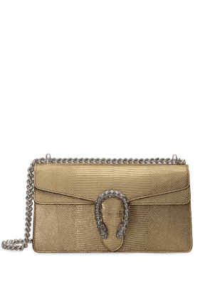 Gucci Small size metallic Dionysus shoulder bag - Gold