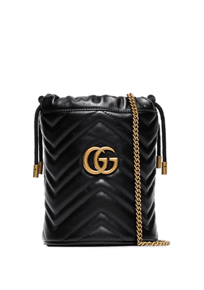 Gucci GG Marmont mini bucket bag - Black