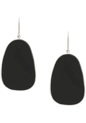 Isabel Marant petal earrings - Black