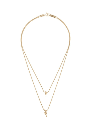 Isabel Marant Flash double-layered necklace - Gold