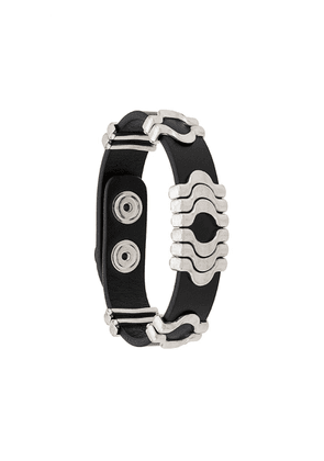 Isabel Marant metallic detail bracelet - Black