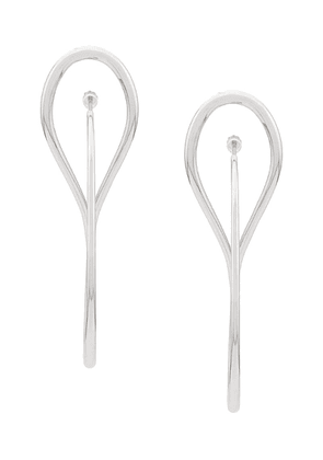 Charlotte Chesnais needle hoop earrings - Silver