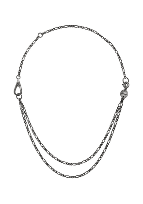 Chin Teo layered chain necklace - Metallic