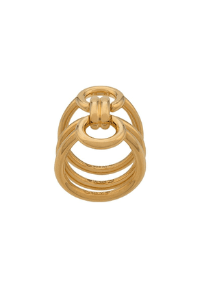 Charlotte Chesnais Tryptich bow ring - Gold