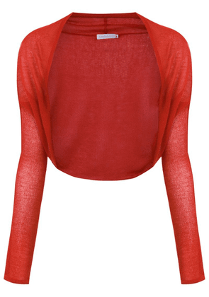 Mara Mac knitted bolero - Red