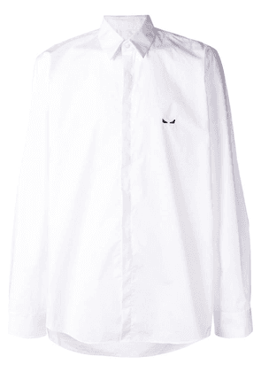 Fendi perfectly fitted shirt - White