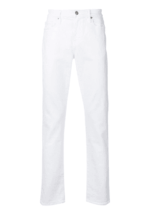 FRAME slim fit jeans - White