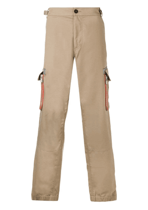 Heron Preston wide leg chinos - Neutrals