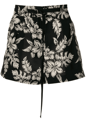 Moncler high waisted shorts - Black