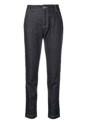 Fendi Double F tapered jeans - Blue