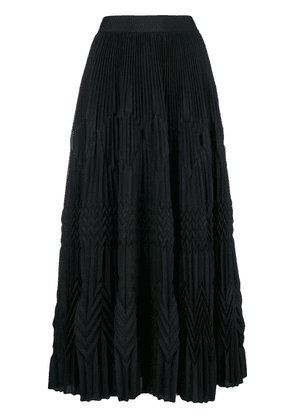 Givenchy long pleated skirt - Black