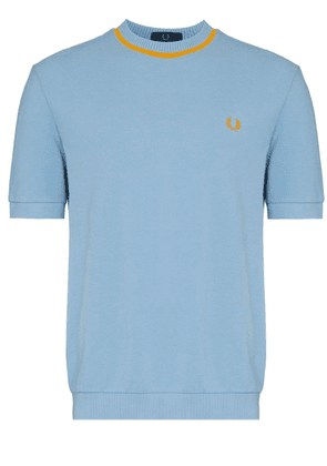 Fred Perry crew neck T-shirt - Blue