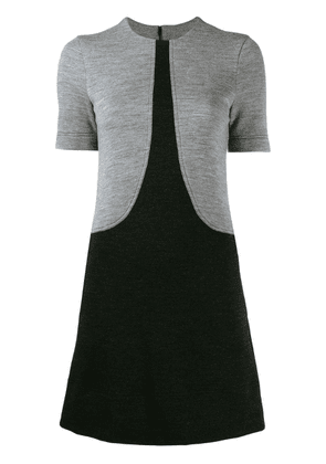 Givenchy two-tone T-shirt dress - Black