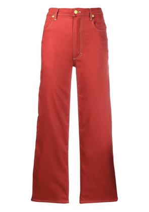 Eckhaus Latta straight trousers - Red