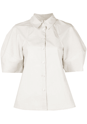 Co puffball sleeve shirt - Neutrals