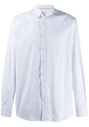 Hackett check pattern shirt - White