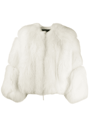 Attico Dallas oversized jacket - White