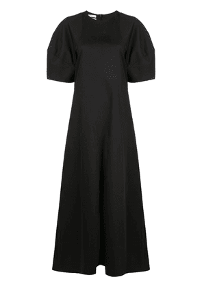 Co puffball sleeve maxi dress - Black