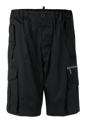 Dsquared2 cargo shorts - Black