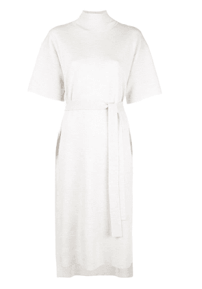 Co fine knit belted dress - Neutrals
