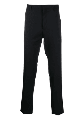 Lanvin slim-fit tailored pleated trousers - Blue