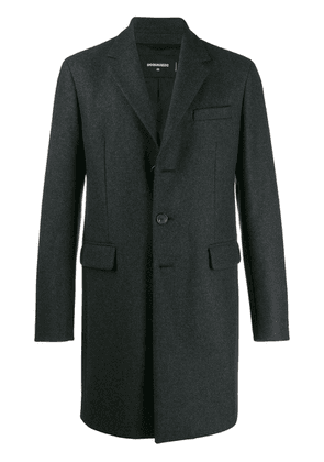 Dsquared2 single-breasted coat - Grey