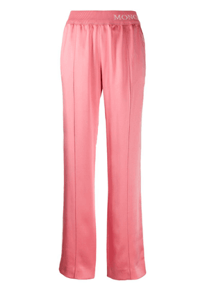 Moncler casual track style trousers - Pink
