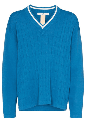 Eytys Exodus cable-knit sweater - Blue