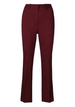 Victoria Beckham cropped trousers - Red