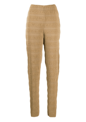 Toteme slim-fit pleated trousers - Neutrals