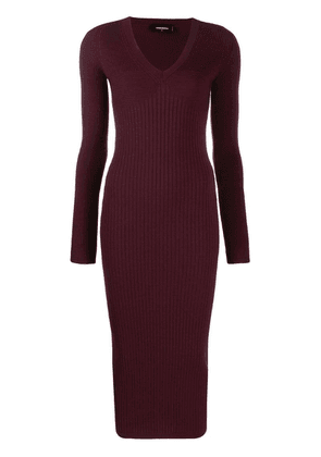 Dsquared2 fitted knitted dress