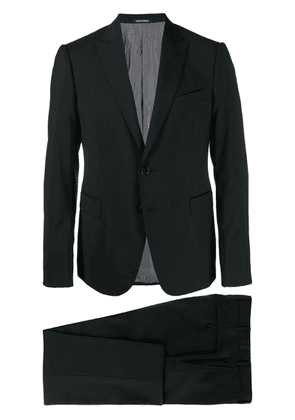 Emporio Armani slim fit two piece suit - Black