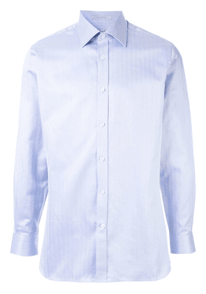 Gieves & Hawkes striped shirt - Blue