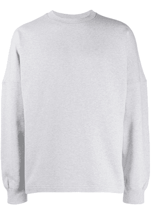 Alexander Wang back logo sweatshirt - Grey