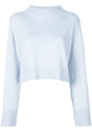 Co cropped jumper - Blue